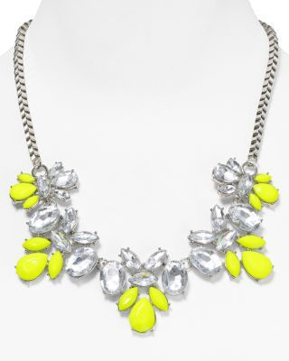 Neon jewelry is perfect for the summer - click on the photo to buy x