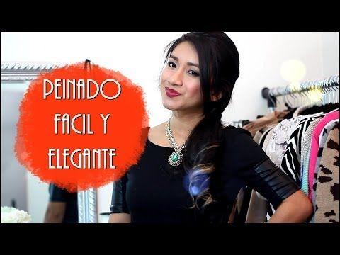 Peinado facil y Elegante para fiesta |Joryck - YouTube