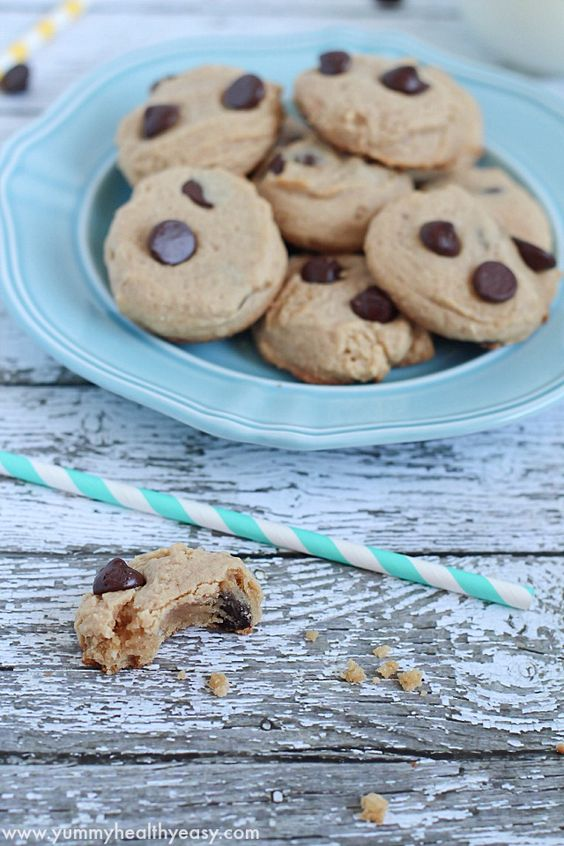 Easy 5 ingredient cookies - soft and delicious!