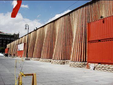 Museo Nomada en el Zocalo