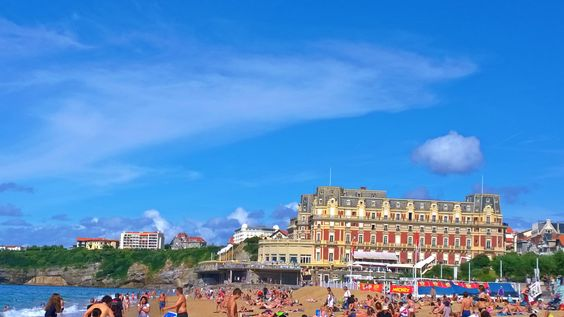 Biarritz à Aquitaine
