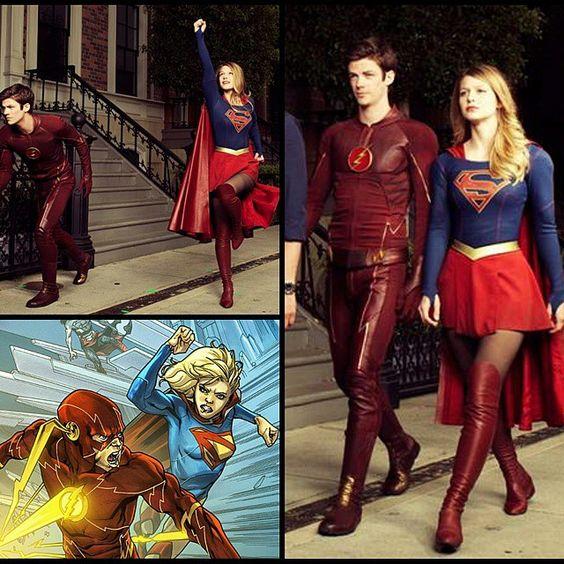 Flash & Supergirl