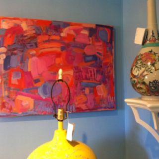 Reagan Geschardt art. Sandra John showroom