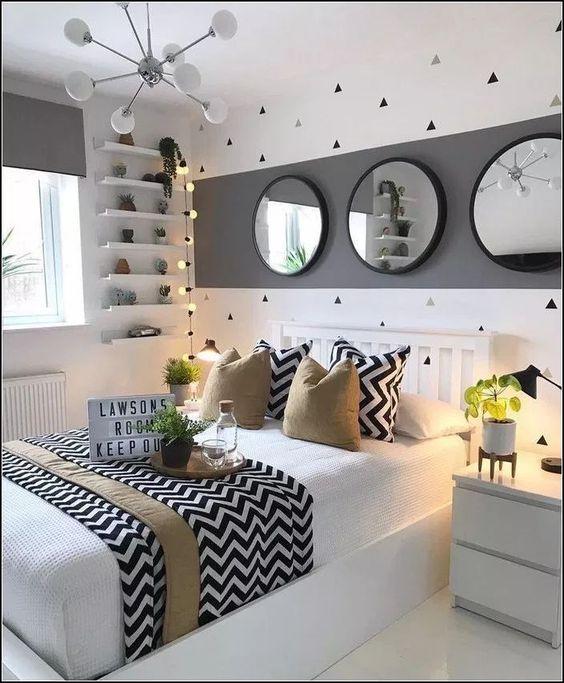 132 hermosas ideas de decoración para dormitorios  Página 29 myyhomedecor.com  #DekoIdeen # Für