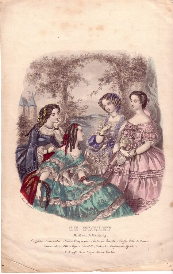 fashion plates :: 1860b.jpg image by Heileenh…