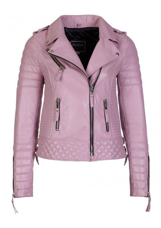 Kay Michael's Quilted Biker- I want this more than anything