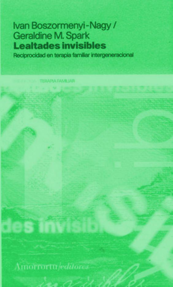Lealtades invisibles, PDF - Iván Boszormenyi-Nagy y Geraldine M.