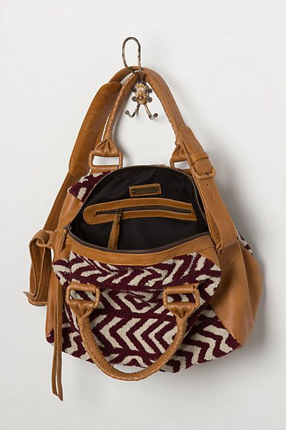 Gypset Chevron Satchel - Anthropologie.com