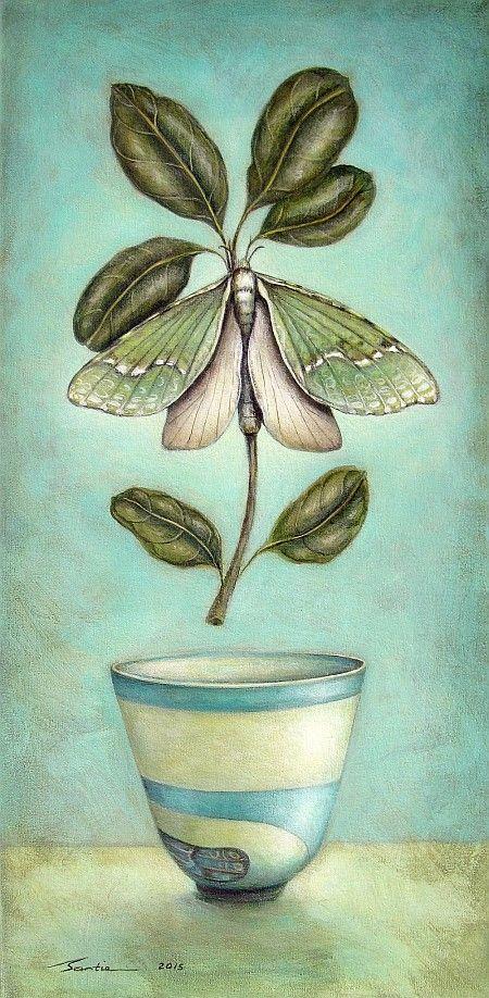 """A peaceful existence"" by Santie Cronje (Puriri Moth)"