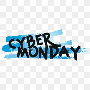 Cyber Monday Sale In Brush Strokes Style Cyber Monday Sale Brush Png And Vector With Transparent Background For Free Download Cyber Monday Sales Cyber Brush Strokes