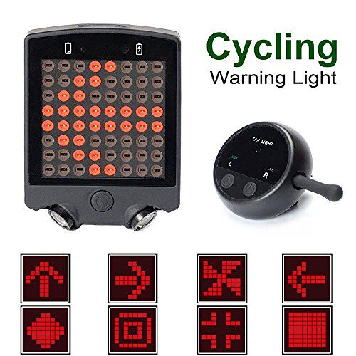 Gazelle Trading Bicycle Turn Signals Waterproof Remote Co