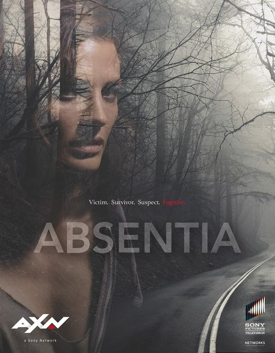 Absentia Poster  Watch this show on Amazon Prime! I'm loving it so far.