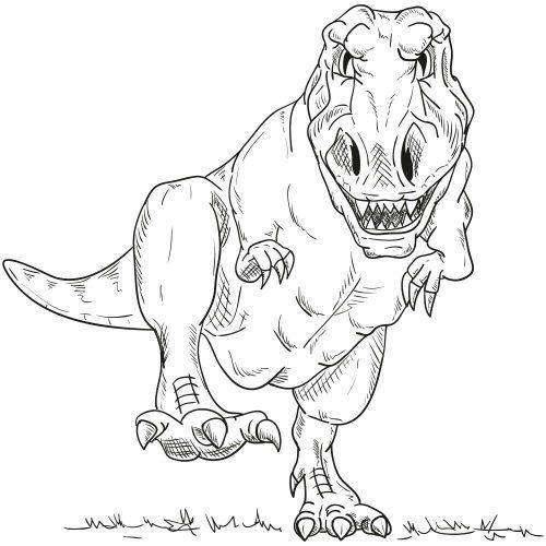 Dinosaurier Ausmalbilder Kostenlos Zum Ausdrucken Online Dinosaurier Ausmalbilder Ausmalbilder Malvorlage Dinosaurier