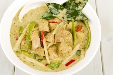 Thai Chicken Curry - Photo © Paul Brighton