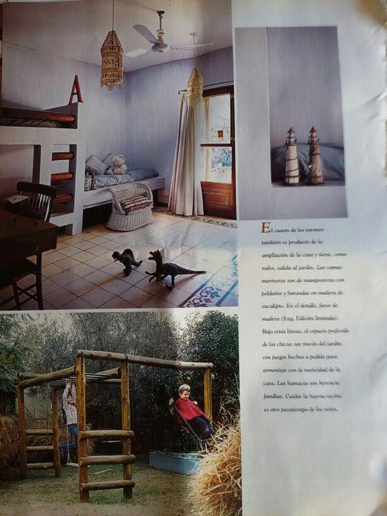 Casa de campo - cuarto de niños