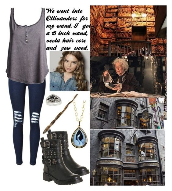 """""""Ollivanders"""" by charleymalfoy ❤ liked on Polyvore featuring Office, Ash, Syna and Topshop"""