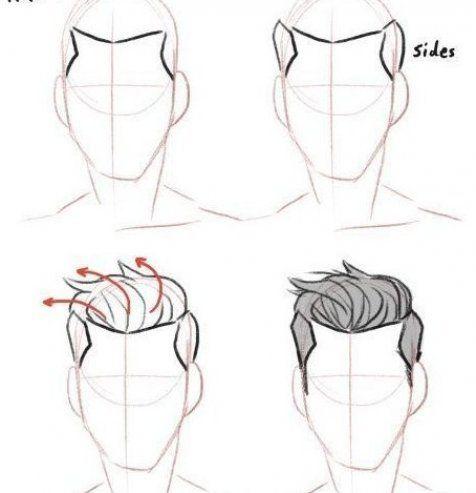 Tumblr Make Hair Hair Make Tumblr Hair Mach Tumblr Tumblr Do Hair Hair Mach Tumblr In 2020 How To Draw Hair Drawing Male Hair Boy Hair Drawing