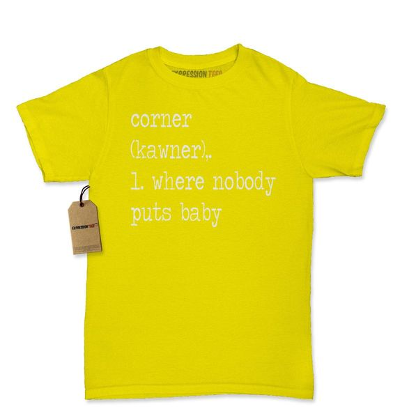 The Corner - Where Nobody Puts Baby Womens T-shirt