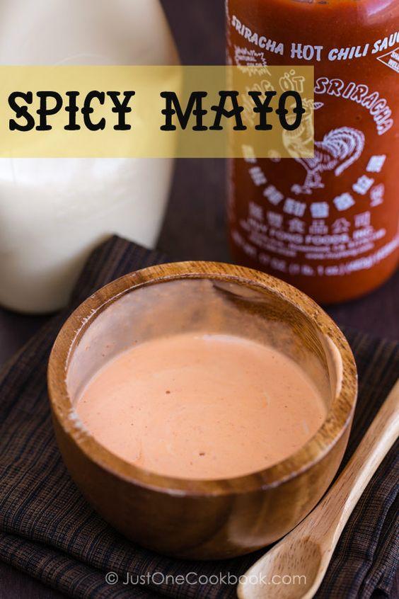 Spicy Mayo Recipe | Easy Japanese Recipes at JustOneCookbook.com