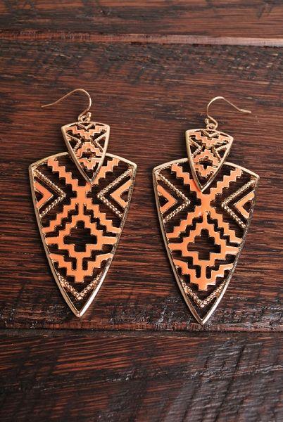 El Azteca Earrings
