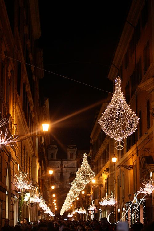 Rome at Christmas time!