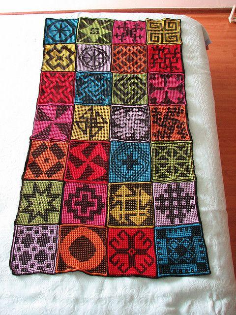 Learn to Knit Afghan Series - Wee Folk Art