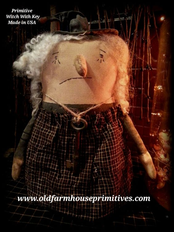 Primitive Witch BRIMLEY (Made In USA)