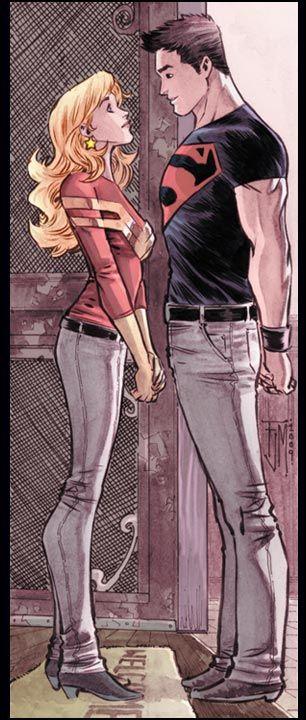Superboy & Wonder Girl