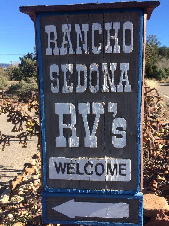 Rancho Sedona RV park, Arizona.  Photo by www.campbase.com