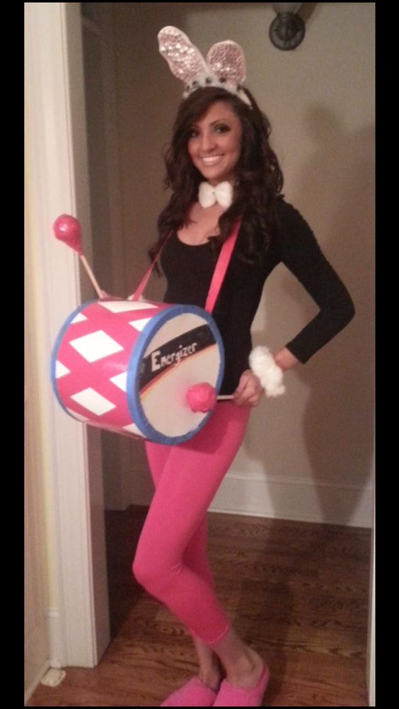 Energizer bunny bunnies and halloween on pinterest for Diy halloween costumes for adult women
