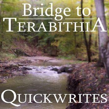 Essay questions for bridge to terabithia