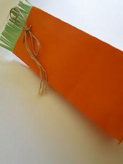 caixinha de cenoura