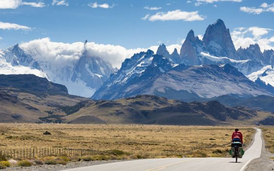 Villa O'Higgins is the entrance to Torres del Paine