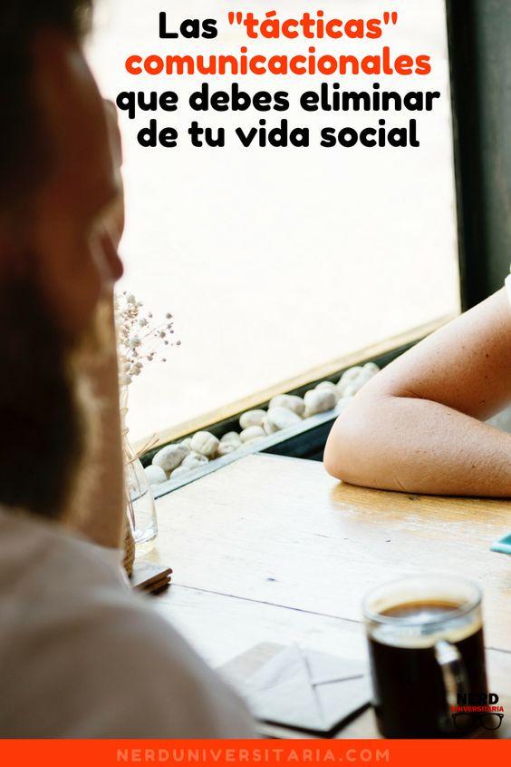 Comunicarse nos hace seres sociales, pero eso no quiere decir que somos sociables. Esto puede verse evidenciado si te das cuenta que tu vida social no termina de estabilizarse. Quizás estás utilizando tácticas inadecuadas y en este artículo te explicaré cuáles son…  #communication #blog #comunicacion