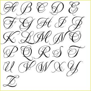 Volle Alphabet Herz Samantha Schriftart Svg 7