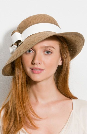Not an easy look to pull off but worth it when you can...Glint 'Double Band' Hat @ Nordstroms $48.00