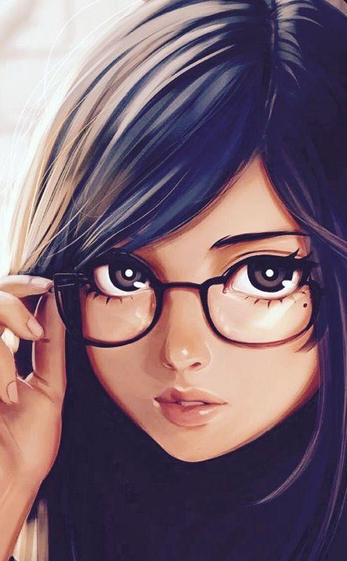 Cute Teenage Girl Art Girls Cartoon Digital