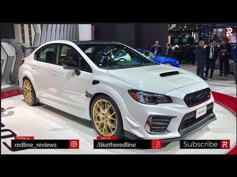 2020 Subaru Wrx Sti S209 Redline First Look 2019 Naias Youtube Subaru Wrx Subaru Wrx Sti Subaru