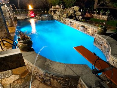 Poolscape design has come a long way for homeowners.  http://www.rizzopools.com/