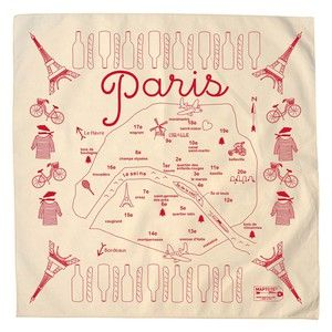 Paris Bandana Natural, $12, now featured on Fab.