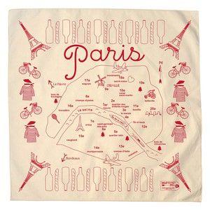 Paris Bandana Natural, $12, now featured on Fab.