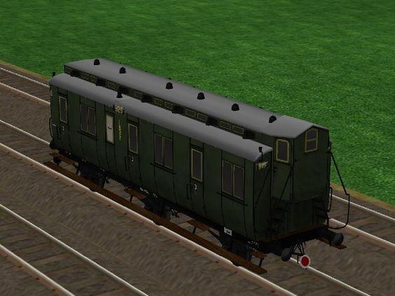 LBE 3. Klasse Traglastenwagen nach Zeichnung Nr. 4243