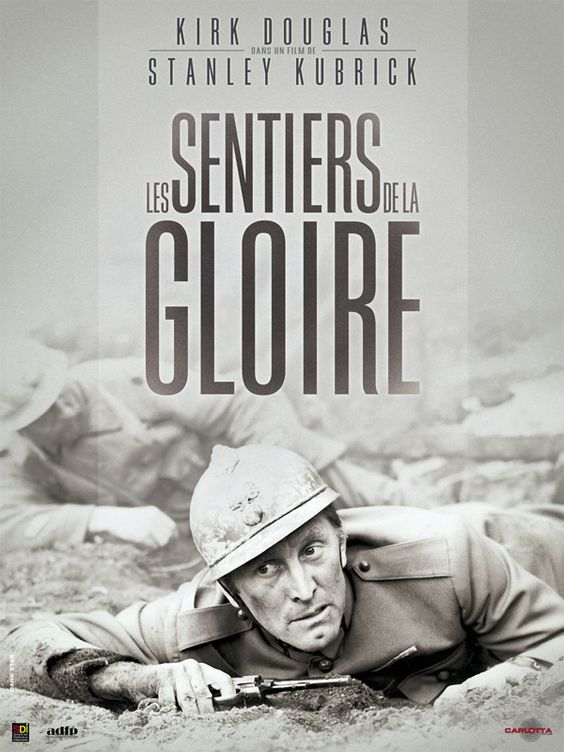 """""""Les Sentiers de la gloire"""" (1957) de Stanley Kubrick, le 17/09 à 21h forumdesimages.fr/les-films/les-programmes/quelle-connerie-la-guerre/les-sentiers-de-la-gloire"""