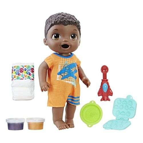 Baby Alive Super Snacks Snackin Luke African American Doll Baby Dolls For Toddlers Baby Alive Baby Dolls For Kids