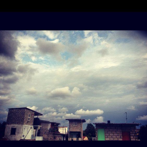 It will rain...
