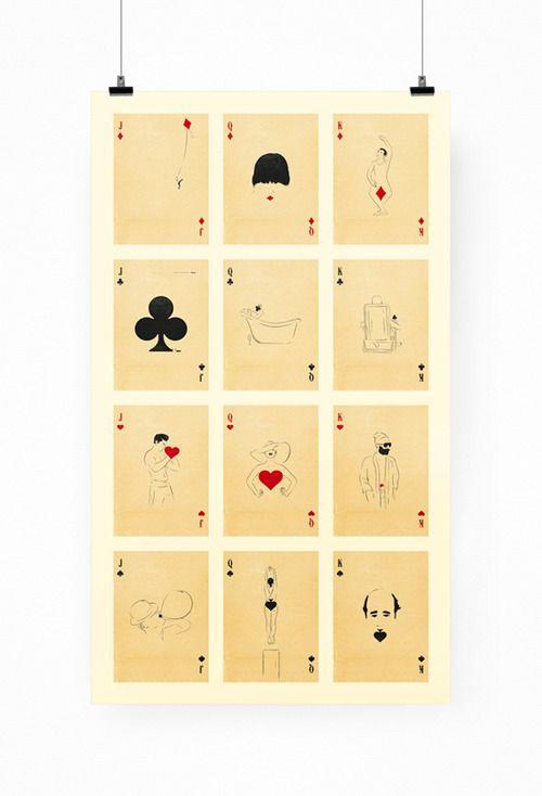Cultura, arte y diseño mexicano | Inkult Magazine – Patrik Svensson | 'Playing Card'