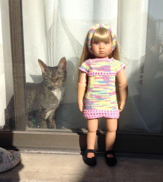 Another KNITNPLAY design I did for Marieka my Kidz N Cats girl.