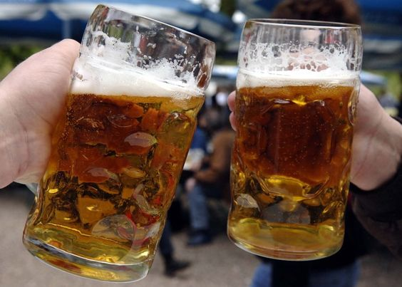 German brewers worry that fracking might contaminate the water they use for beer.