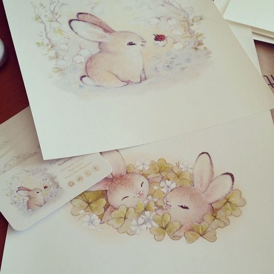 bunnies  Instagram: heathersketcheroos