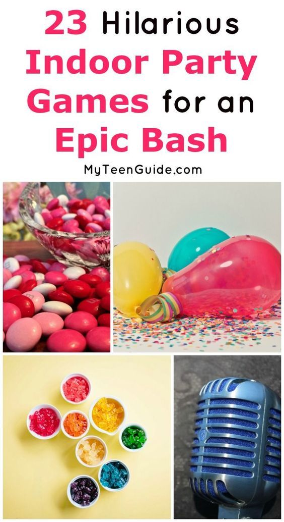 23 Hilarious Indoor Party Games For Teens That Will Make Them Rofl Kids Party Games Indoor Party Games Birthday Party For Teens